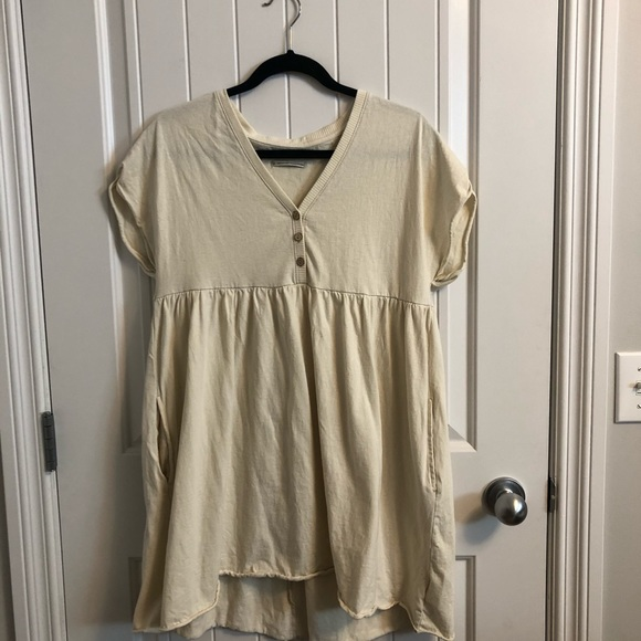 Cream Dress from Urban Outfitters